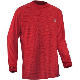 NRS H2Core Silkweight Long-Sleeve Shirt Men salsa